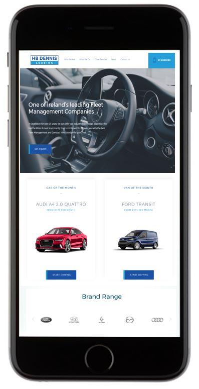 HB Dennis leasing - Driver App